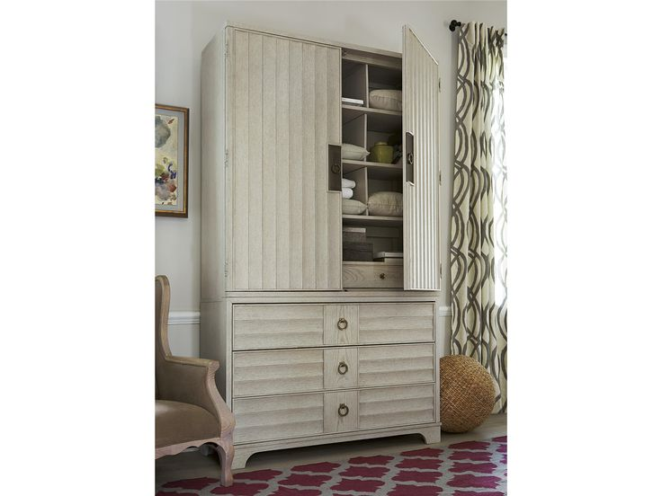 Universal Furniture | California Malibue   Media / Bunching Chest With Deck