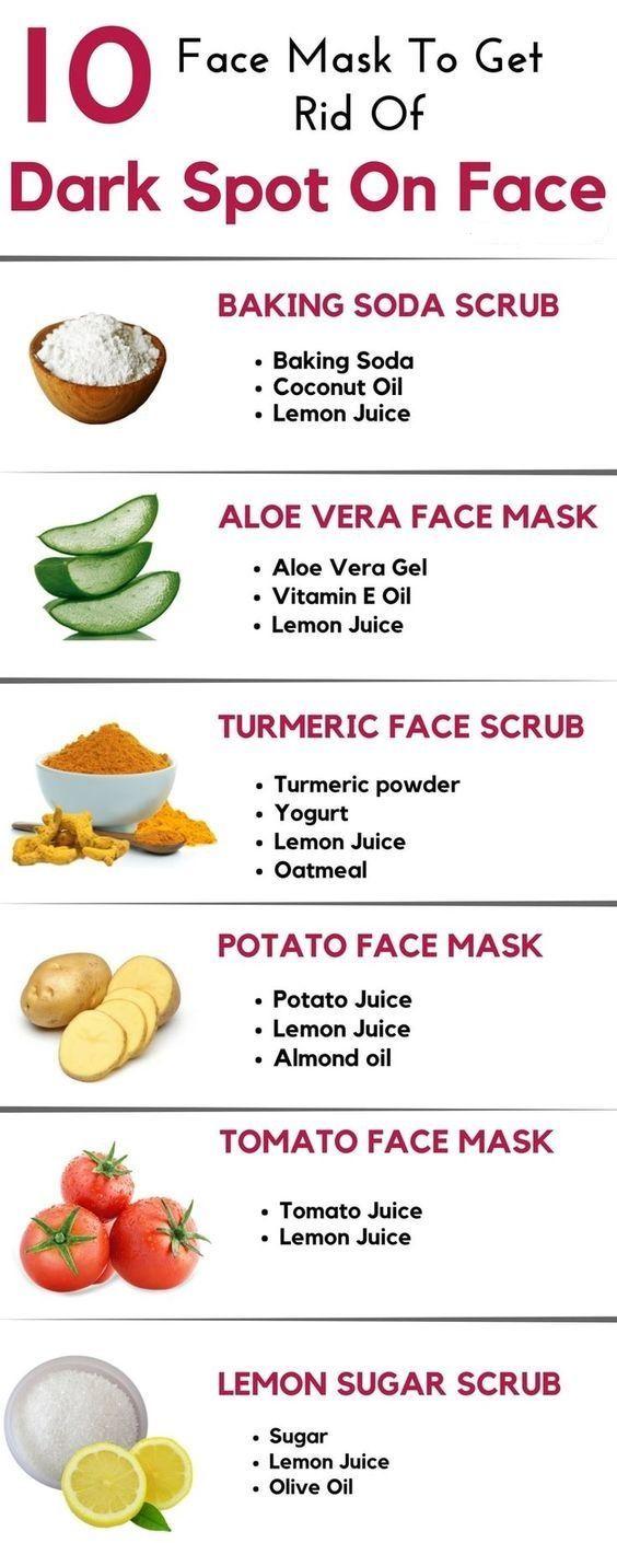 get rid of spots on face overnight