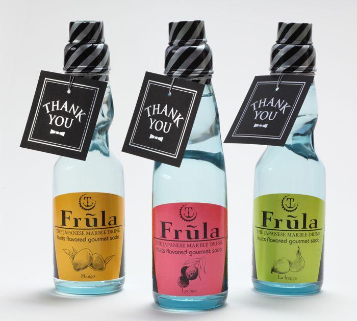 【Frula】フルーラ(ラムネ) タグ付き 1本 | プチギフトの百貨店 HYACCA