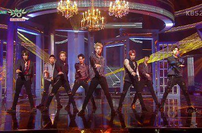 Exo at music Bank.  Like before pin  #exo #comeback