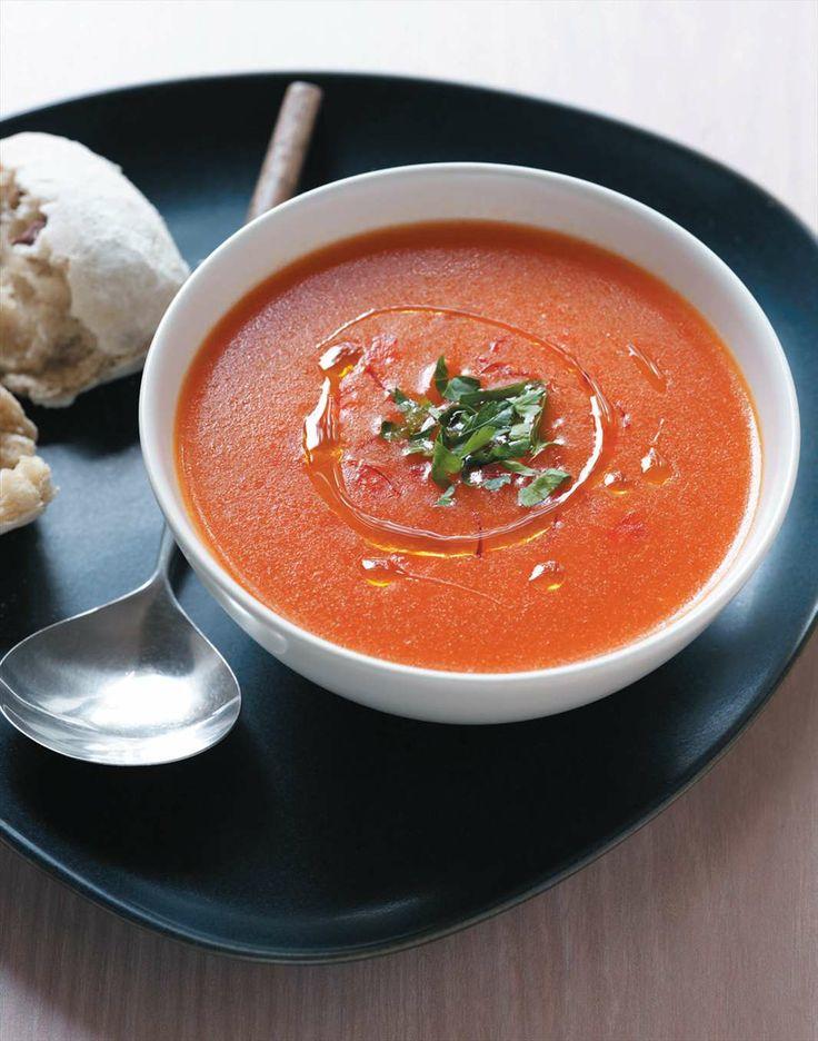 Tomato saffron soup by Margaret Fulton | Cooked