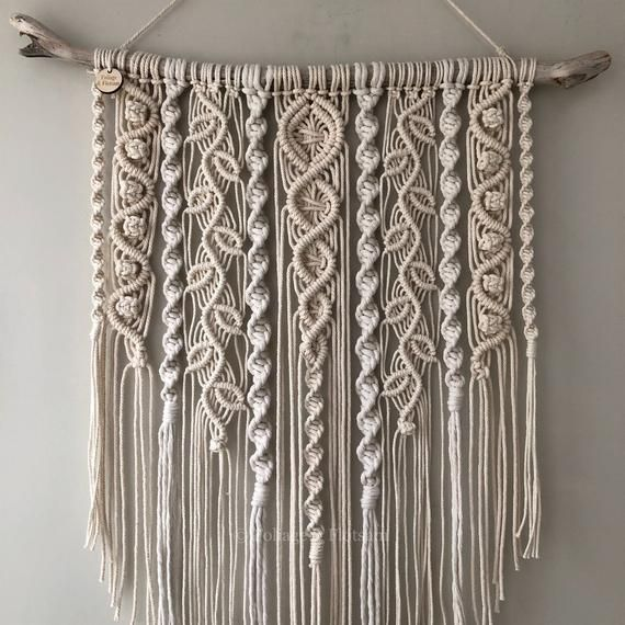 Large Macrame Wall Hanging Nursery Scandi Style Wall Decor Boho