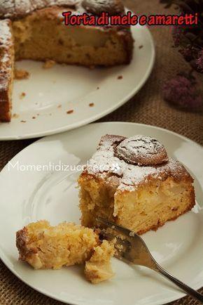 Momenti di zucchero: Torta di mele e amaretti