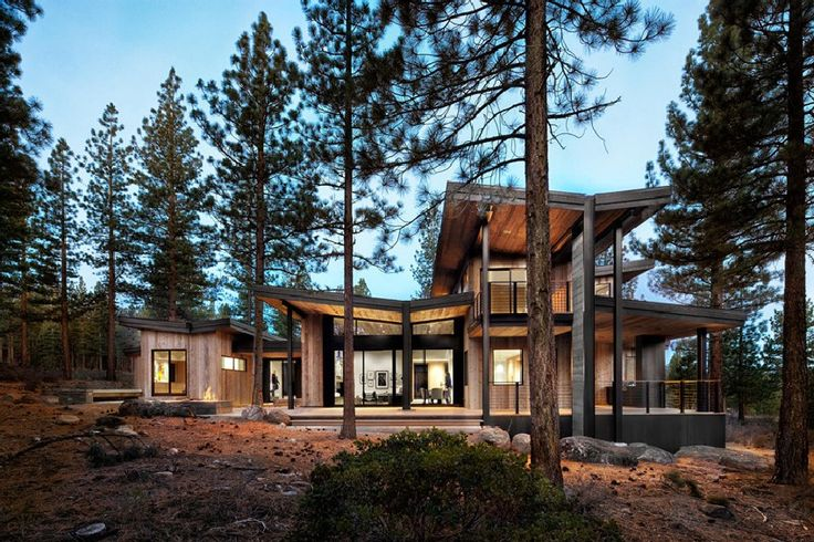 Healthy Living and Seclusion Provided by Martis-Dunsmuir House in California