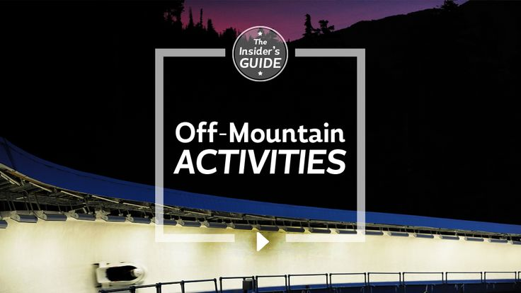 Tourism Whistler - Insider's Guide to Whistler: Episode 3, Off-Mountain Activities
