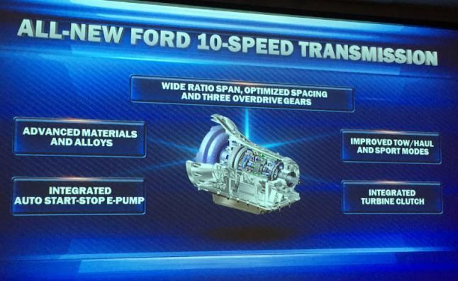 F-150 EcoBoost And 10-Speed Combo More Fuel Efficient