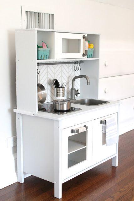 Ikea kids kitchen renovation