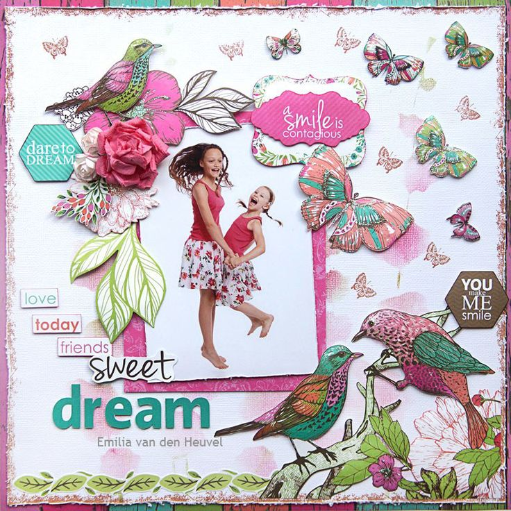 "<p>Hello everybody! Emmy here sharing my first creation for August. This month I got to work with the most amazing collection from Kaisercraft – Fly Free (available at Merly Impressions online store). To create my background I used Kaisercard Coconut Weave Cardstock, which I layered on Gal Pal pattern paper. <a href="" http://www.merlyimpressions.co.uk/blog/project-portfolio/scrapbooking/a-smile-is-contagious-with-fly-free/ ""> …click to read more</a></p>"