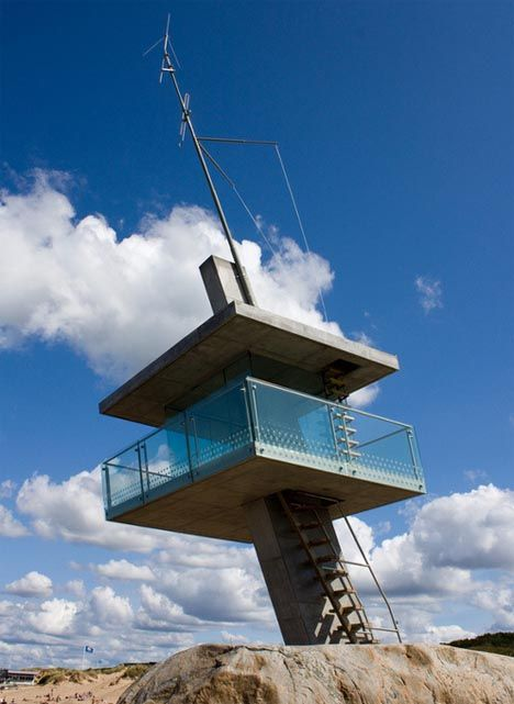 Modern Guard House Design: 17 Best Images About Life Guard Towers On Pinterest