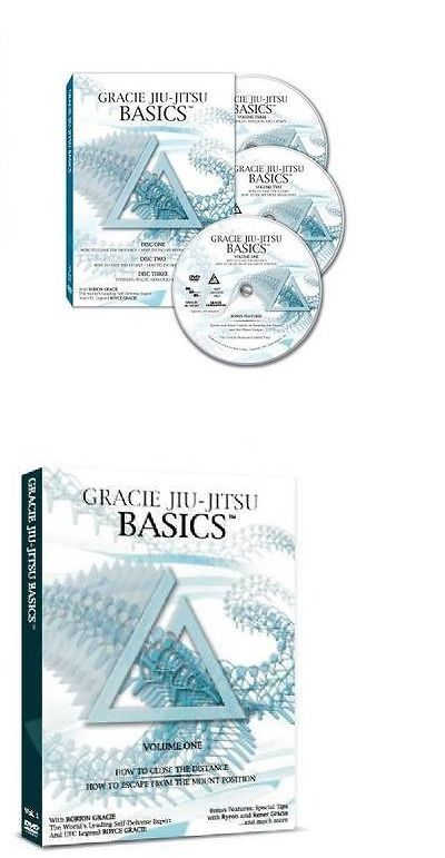 DVDs Videos and Books 73991: Gracie Academy Jiu Jitsu Basics Dvd Set (3 Discs) BUY IT NOW ONLY: $49.0