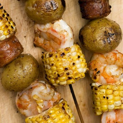 Shrimp & Sausage Kabobs - Recipes - Sprouts Farmers' Market