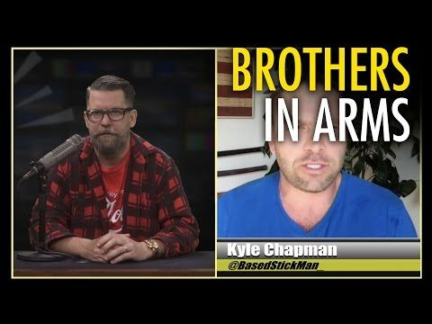 """Gavin McInnes & Based Stick Man: """"The Right is done being attacked"""" - YouTube"""