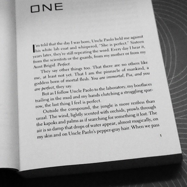Page 1 Of Origin By Jessica Khoury
