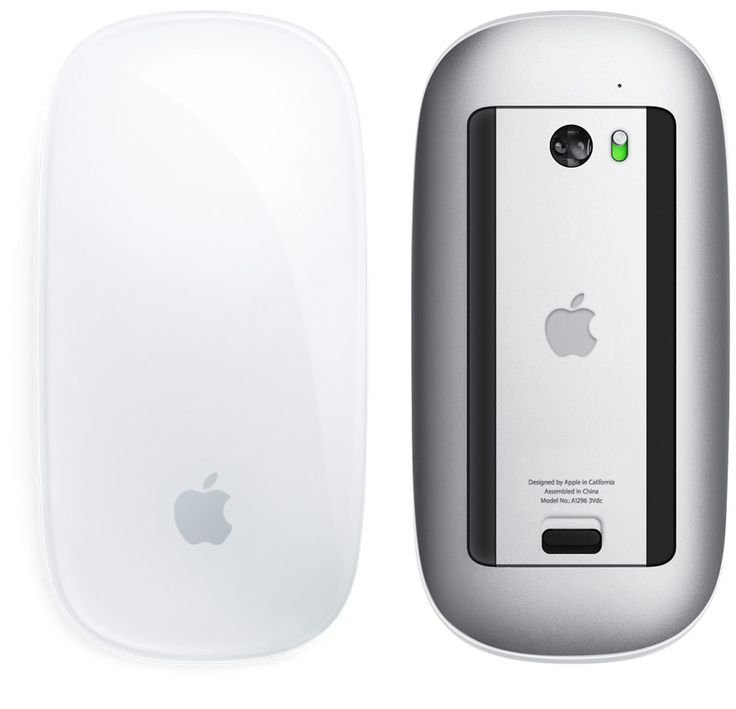 Apple (United Kingdom) - Magic Mouse - The world's first Multi-Touch mouse.