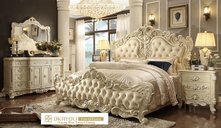 Set Tempat Tidur Mewah Barocco Kamar Tidur Mewah Terbaru