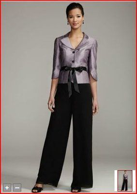 formal pant suit for mother of the bride - Google Search