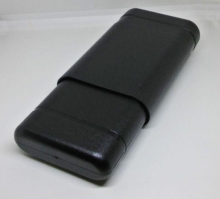 """Kingstar Telescopic Airtight Travel 3 Cigar Case Plastic Cigar Holder (6"""" - 8"""")"""