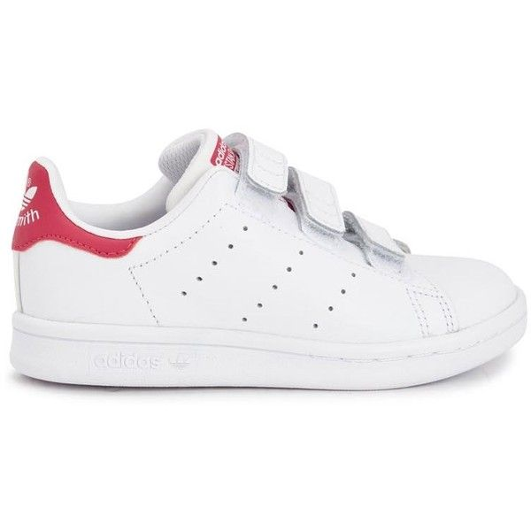 Womens Kidswear ADIDAS KIDS Stan Smith Leather Trainers (550 NOK) ? liked  on Polyvore