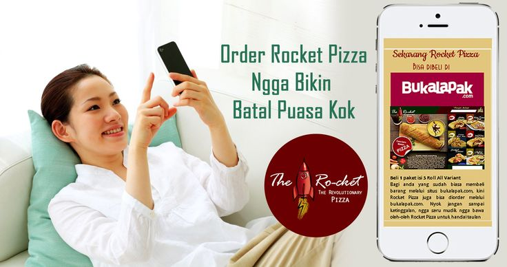 Rocket Pizza available at #bukalapak