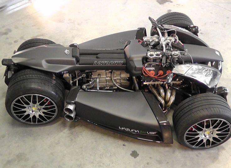 Introducing The Wazuma V8F: The 4Wheeler With A V8 Ferrari Engine & BMW M3 Gearbox (PHOTOS)