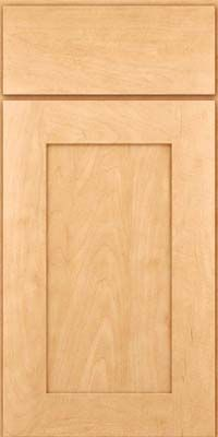 Square Recessed Panel Solid Drhm6 Square Honey Spice