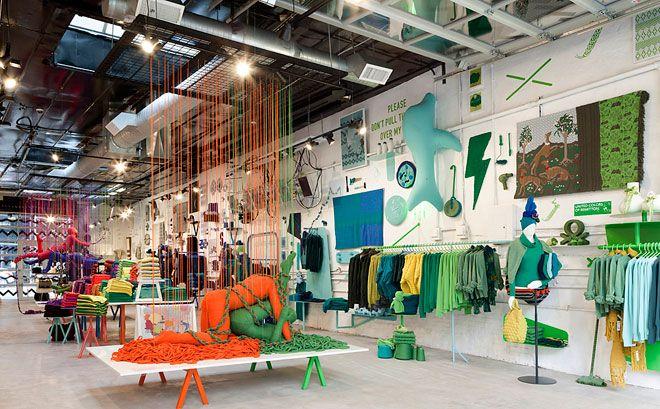 El arte de tejer de Benetton llegó a NY | Chile