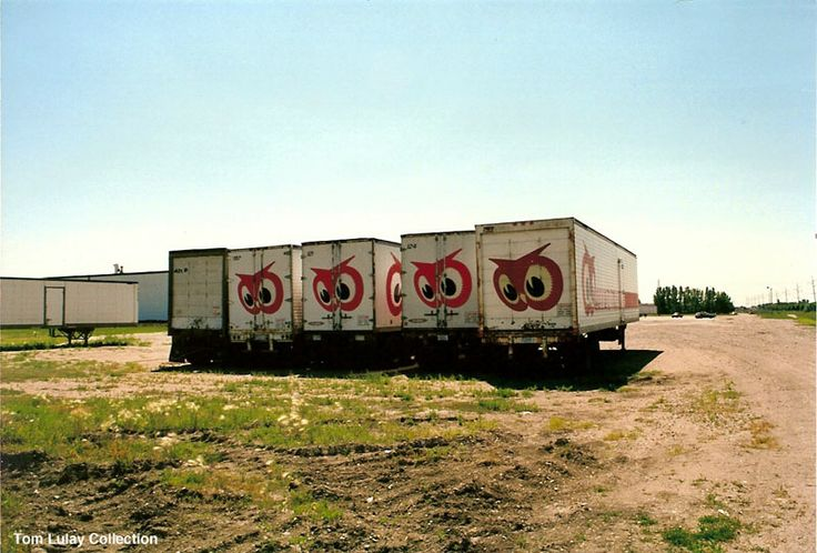 Red owl trailers at supervalu after the company sale in