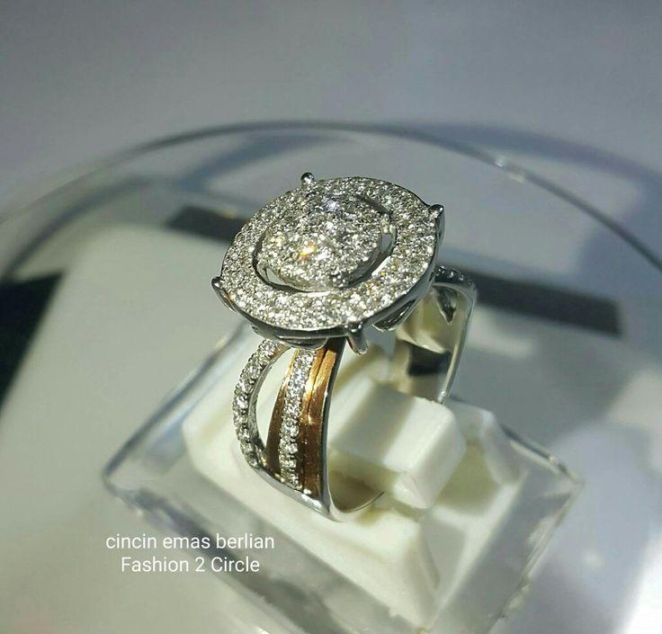New Arrival🗼. Cincin Emas Berlian Fashion 2 Circle💍.   🏪Toko Perhiasan Emas Berlian-Ammad 📲+6282113309088/5C50359F Cp.Antrika👩. https://m.facebook.com/home.php #investasi#diomond#gold#beauty#fashion#elegant#musthave#tokoperhiasanemasberlian
