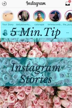 Learn to use Instagram Stories. Read about how it varies from Snapchat, too.
