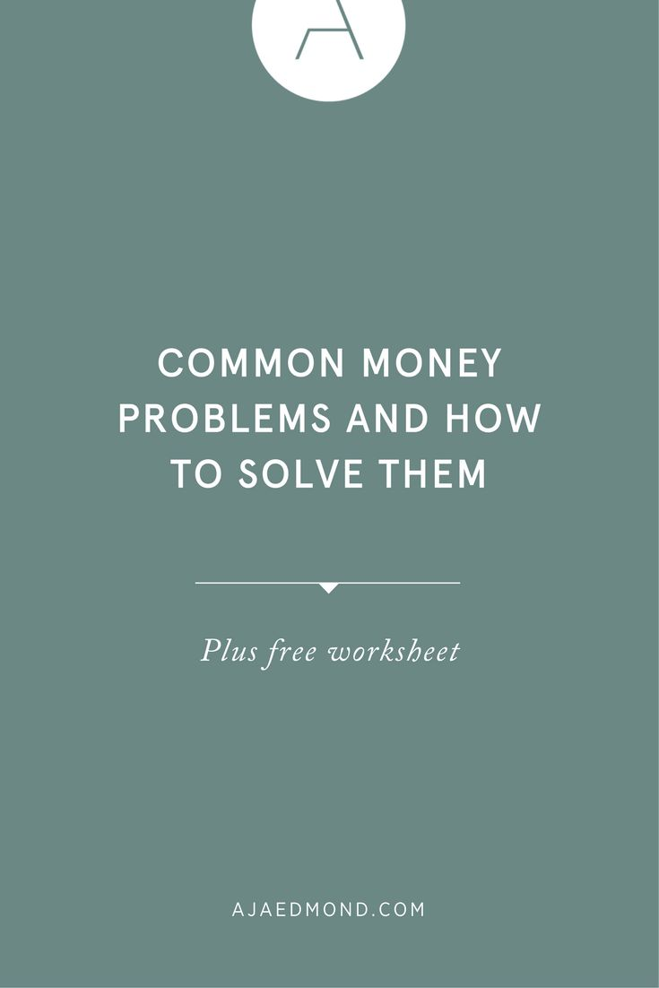You don't need more money you need to change the way you think about money. Here are five ways to solve common money problems with the right mindset. Read this personal development post at ajaedmond.com