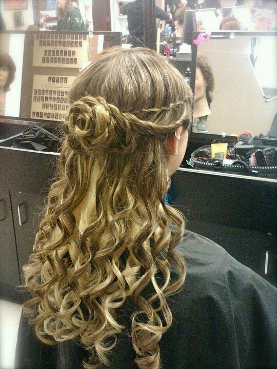 32 Best Images About Semi Formal Hairstyles On Pinterest