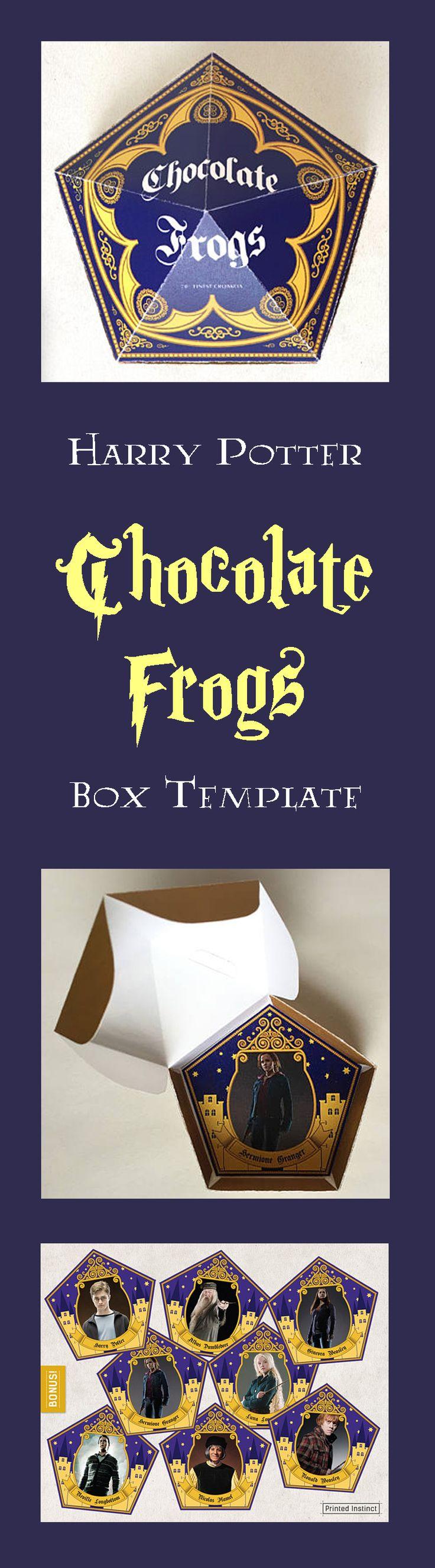 Chocolat frog Harry Potter