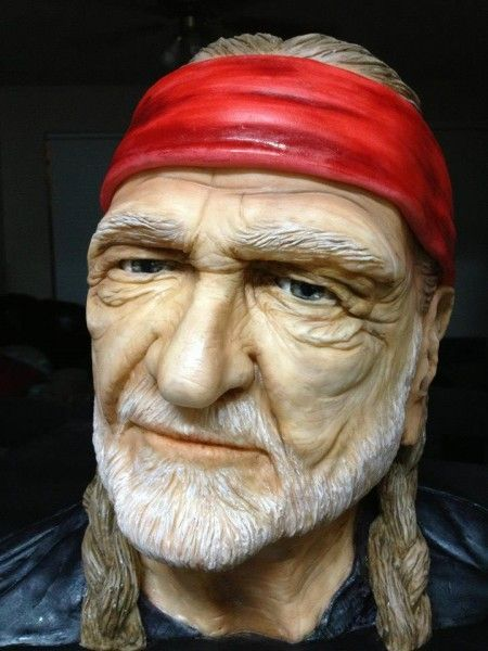 Willie Nelson Cake - 3D Cake - Cake Central (Freaking Awesome!).