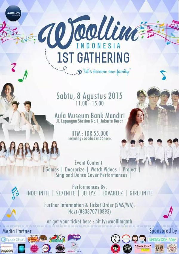 Sponsorship: Woollim_INA 1st Gathering
