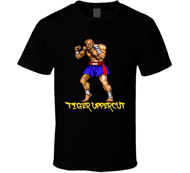 Sagat Street Fighter Video Game Classic T Shirt #Affiliate
