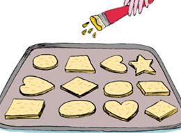 Afocal Bretagne. Une recette de sablés illustrée ! Pensez à analyser la recette en amont !