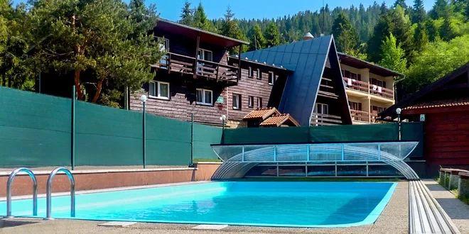 Pobyt pre 2 osoby v tichom lesnom prostredí v Hoteli Ružbachy