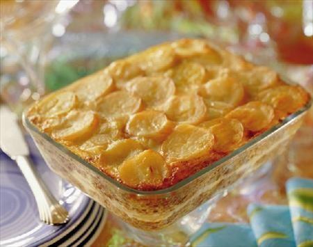 Sorprende a tu familia con un Pastel de Cochayuyo y Papas. Prepararlo es fácil, solo en 60 minutos y podrás tener 8 porciones.