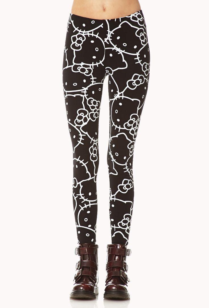 Hello Kitty ® Leggings | FOREVER21 #fashion