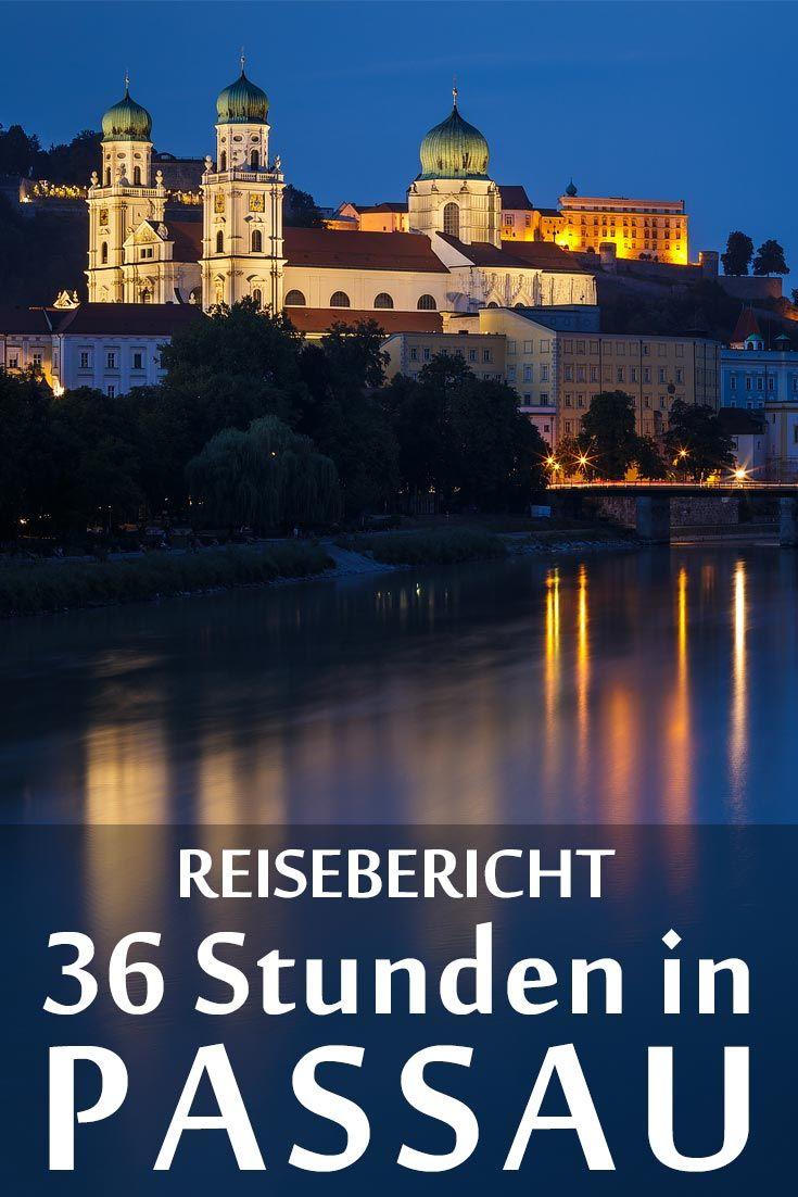 Passau Treffpunkt Der Flusse Passau Reisen Urlaub Bayern