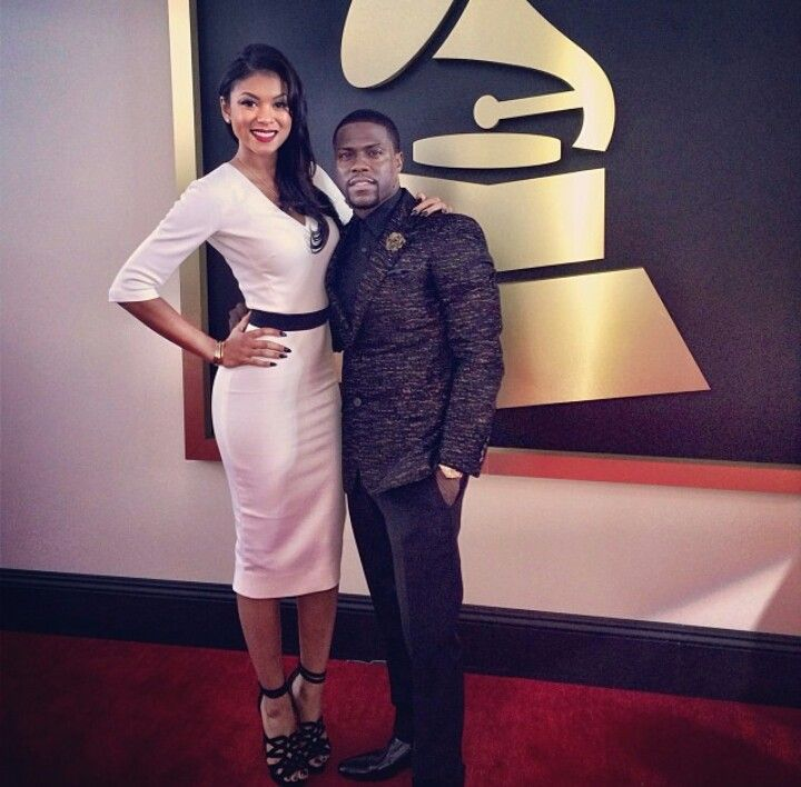 Kevin Hart & girlfriend they are just so dang cute!!!! UGH