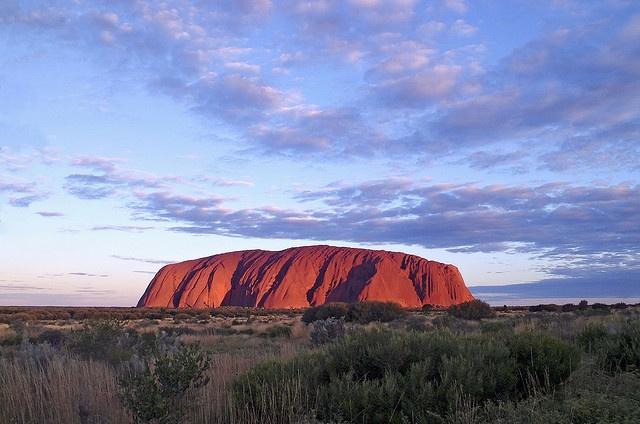 Ayers Rock, Australia.