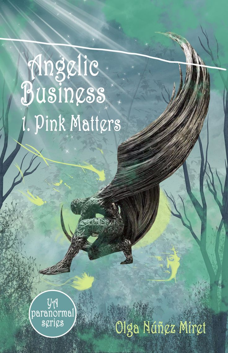 The first book in my YA paranormal series Angelic Business (Angelic Business 1. Pink Matters) is free in most places. And it has a gorgeous cover!