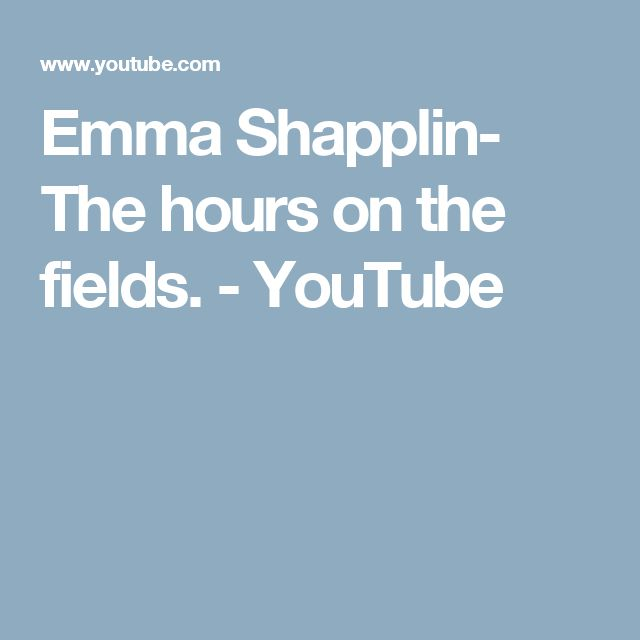 Emma Shapplin- The hours on the fields. - YouTube