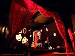 Design d'espace - Jessica Pinna - Scénographie théâtre - Antibes 06