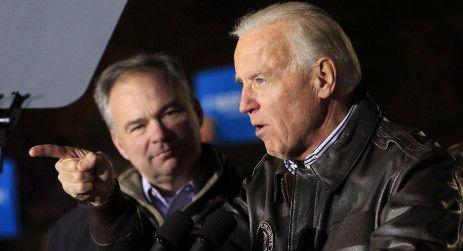 Joe Biden Tim Kaine 2012 rally
