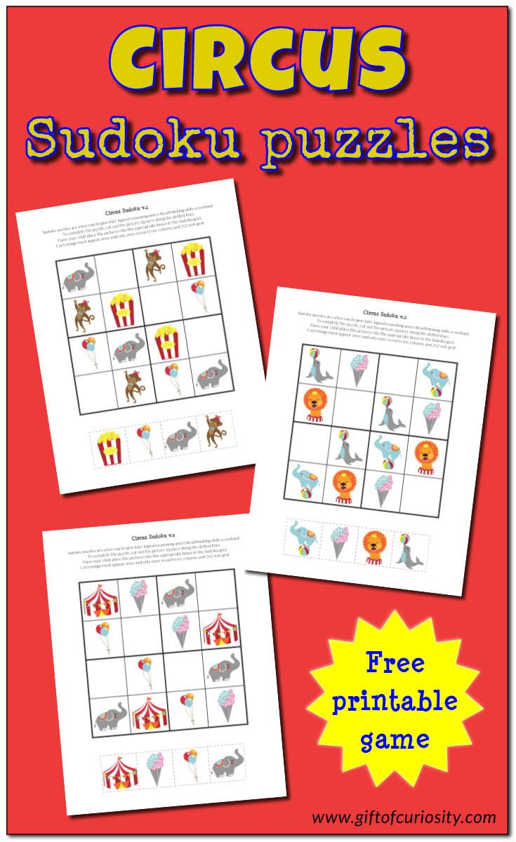25 best images about circus activities for kids on for Circus printables