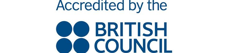 Accredited by the British Council and Member of English UK