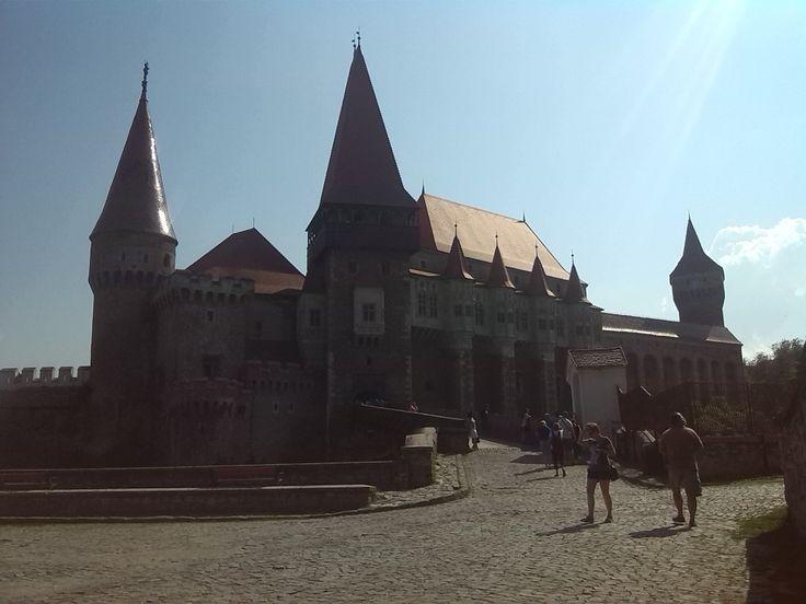 Hrad Korvín, Rumunsko, celkový pohled