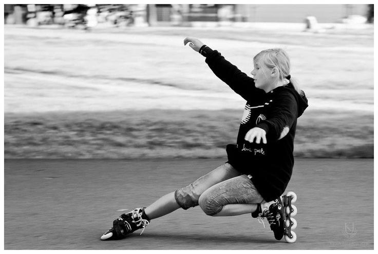 Angelika Prucnal (Powerslide FSK team), 5th in WSSA in Freestyle Slides, Women Category.